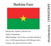 burkina faso national flag ...   Shutterstock .eps vector #1949692849