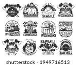 Lumberjack  Sawmill Lumbering...