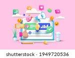 digital marketing  web... | Shutterstock .eps vector #1949720536