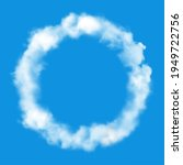 clud circle frame or round of... | Shutterstock .eps vector #1949722756