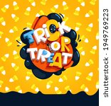 cartoon trick or treat... | Shutterstock .eps vector #1949769223