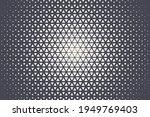 triangular halftone texture... | Shutterstock .eps vector #1949769403
