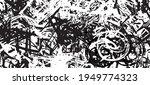 grunge black and white.... | Shutterstock .eps vector #1949774323
