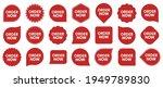 set of order now badges. sale...   Shutterstock .eps vector #1949789830