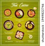 thai cuisine food  restaurant... | Shutterstock .eps vector #1949822746