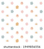 abstract spring flowers set ... | Shutterstock .eps vector #1949856556