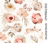 abstract boho seamless pattern... | Shutterstock .eps vector #1949861503