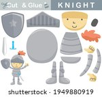 little knight with sword... | Shutterstock .eps vector #1949880919