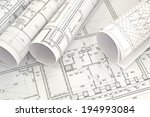 project drawings   image of... | Shutterstock . vector #194993084