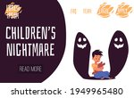 website on childrens nightmare... | Shutterstock .eps vector #1949965480