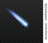 falling star or meteor with gas ...   Shutterstock .eps vector #1949969230