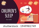 childrens sleep website with... | Shutterstock .eps vector #1949981749