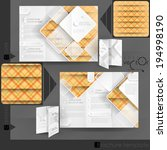 business brochure template... | Shutterstock .eps vector #194998190