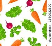 fresh vegetables background.... | Shutterstock .eps vector #1950032800