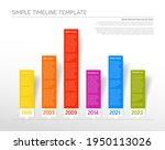 vector infographic timeline...   Shutterstock .eps vector #1950113026
