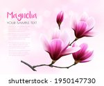 nature background with blossom... | Shutterstock .eps vector #1950147730