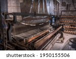 Antique Mechanical Loom...