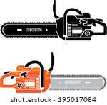 chainsaw vector