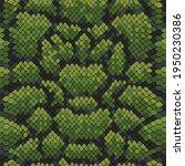 vector snake skin  reptile... | Shutterstock .eps vector #1950230386