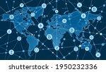vector image. blockchain and... | Shutterstock .eps vector #1950232336