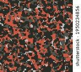digital dark red and black camo ... | Shutterstock .eps vector #1950234856