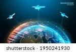vector image. world wide web.... | Shutterstock .eps vector #1950241930