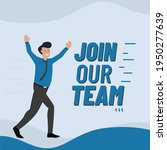 join our team concept  we are...   Shutterstock .eps vector #1950277639