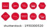 set of sale badges. special... | Shutterstock .eps vector #1950300520