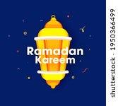 ramadan kareem text with... | Shutterstock .eps vector #1950366499