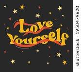 seventies retro slogan with...   Shutterstock .eps vector #1950479620