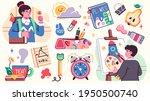 collection of school... | Shutterstock .eps vector #1950500740