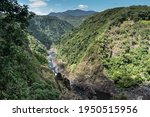 Small photo of Barron Gorge, downstream from Barron Falls in far north Queensland, Australia