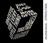 3d slogan typography  just more ...   Shutterstock .eps vector #1950517606