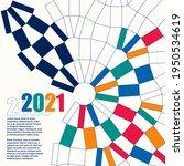 sport background with modern... | Shutterstock .eps vector #1950534619