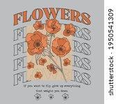 autumn flower illustration with ...   Shutterstock .eps vector #1950541309