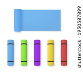 set of colorful realistic...   Shutterstock .eps vector #1950587899