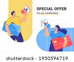 special offer for cardholders... | Shutterstock .eps vector #1950596719