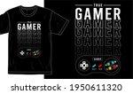 gamer  gaming t shirt design... | Shutterstock .eps vector #1950611320