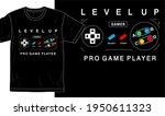 gamer  gaming t shirt design... | Shutterstock .eps vector #1950611323