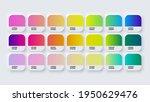 pantone gradient colour palette ... | Shutterstock .eps vector #1950629476