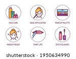 cosmetic products and... | Shutterstock .eps vector #1950634990