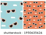 funny hand drawn beach party... | Shutterstock .eps vector #1950635626