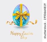 happy easter day easter eggs... | Shutterstock .eps vector #1950664819