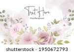 beautiful soft floral... | Shutterstock .eps vector #1950672793