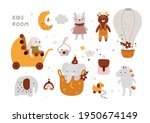 eco friendly toys for newborn... | Shutterstock .eps vector #1950674149