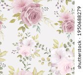 beautiful floral seamless... | Shutterstock .eps vector #1950688279
