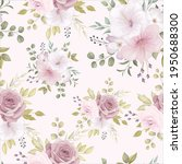 beautiful floral seamless... | Shutterstock .eps vector #1950688300
