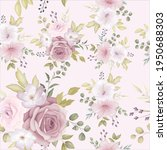 beautiful floral seamless... | Shutterstock .eps vector #1950688303