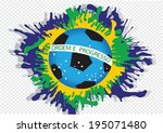 illustration abstract... | Shutterstock .eps vector #195071480
