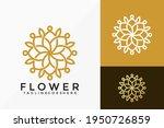 beauty flower bloom logo vector ... | Shutterstock .eps vector #1950726859